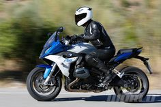 BMW R1200RS road action shot