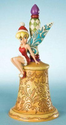 Jim Shore Disney Traditions Tinker Bell Jingle Bell--Real Bell $40