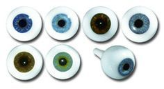 Hand Blown Figure Eyes - 1 pair (8000 Series) | G Schoepfer Inc Eyes for Dolls
