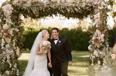 Elegant Floral Arbor   photography by http://carrie-patterson.squarespace.com/