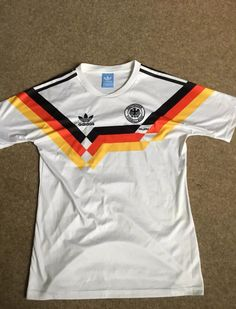 c7310a8af9f 1990 Germany Home Adidas Vintage Medium Football Shirt ⚽ ⚽ ⚽ More details