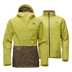 The North Face Men's Garner Triclimate Rain Jacket