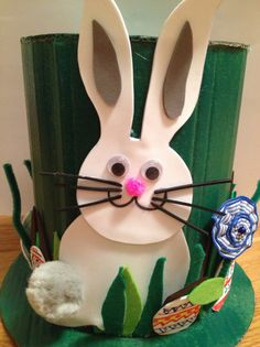 Tutorial Conejo Pascua. Diy easter rabbit