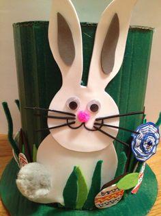 Tutorial Conejo Pascua. Diy easter rabbit