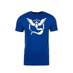 Pokemon Go Shirt Team Mystic Emblem Pokémon GO Shirt (Small) A Team, Team Logo, Pokemon Go Team Mystic, Simple Shirts, Cool Pokemon, Neon Colors, Mens Tops, T Shirt, Stuff To Buy