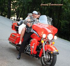 Wedding Exit like a Rock Star, photo by Conway Entertainment of Arkansas