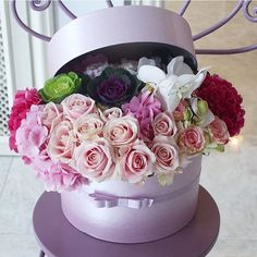 """992 Likes, 10 Comments - 💞Flor De Passion (@flordepassion) on Instagram: """"💕🌸🌸🌸💕🍥 @siyaneflowers"""""""