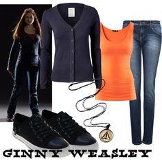"""""""Ginny Weasley"""" by fandom-wardrobes on Polyvore"""