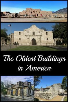 The Oldest Buildings in America - Postcards & Passports