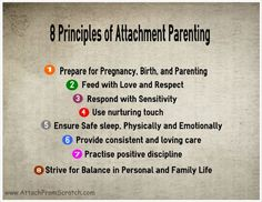 What Is Attachment Parenting really about?