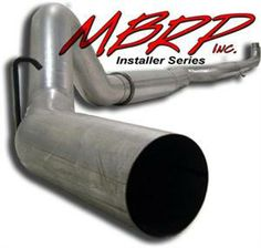 01-07 Duramax, Turbo Back 5 In. Off Road Exhaust