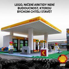 Chcete, aby si naše děti hrály na pumpaře u benzínky Shellu, který těží ropu v Arktidě?  Pokud ne, napište firmě LEGO a sdílejte tento obrázek.  ►►► www.bit.ly/lego_shell_video_fb ►►► SDÍLEJTE S PŘÁTELI...  #lego #shell #arktida #arctic #legoblockshell
