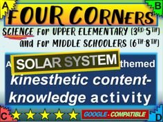 Four Corners Game, Teaching Materials, Fall Cleaning, Grades, Middle Schoolers, Microsoft Powerpoint, Student Engagement, Upper Elementary, Google Classroom