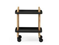 Block Side Table Black by Normann Copenhagen