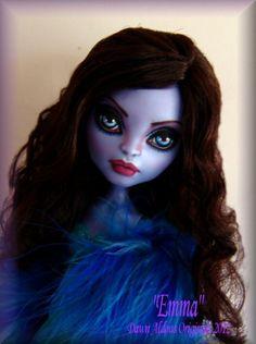 OOAK Monster High Doll Repaint Emma by Dao | eBay