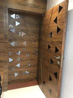 Home Door Design, Door Gate Design, Door Design Interior, Wooden Door Design, Window Design, Wood Front Doors, Wooden Doors, Main Entrance Door Design, Modern Exterior Doors