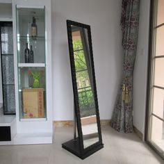 dressing mirror with cabinet