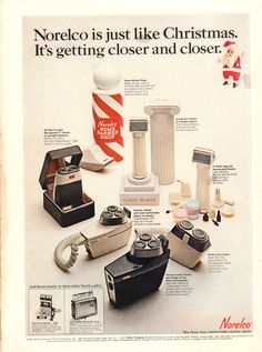 https://flic.kr/p/Qn13Dn | 1967 Norelco Christmas Advertisement Time Magazine December 8 1967 | 1967 Norelco Christmas Advertisement Time Magazine December 8 1967