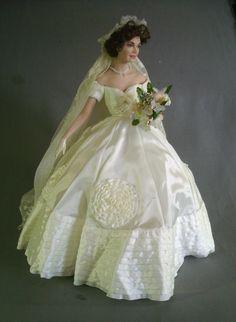 Ashton Drake Galleries 1994 Porcelain Bridal Doll picclickcom