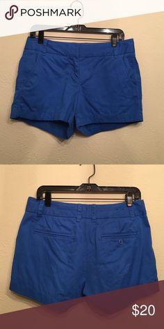 J.Crew Chino Short J.Crew Blue Chino Short. Size 4 J. Crew Shorts