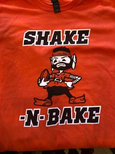 6f927448 Cleveland Browns Shake and Bake Baker Mayfield #6 T Shirt Elf…@ebay @