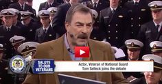 VIDEO: Tom Selleck Shows Obama How a TRUE American Honors Our Troops.