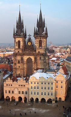Tyn Church, Prague, Czech Republic