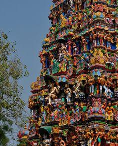 Temple India, Indian Temple, Hindu Temple, Sacred Architecture, Indian Architecture, Beautiful Architecture, Madurai, India Bazaar, Amazing India