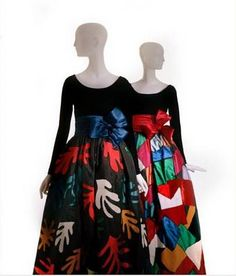 Yves Saint Laurent F/W 1980 Tribute to Matisse dresses. Ysl, Christian Dior, Ethnic Outfits, Long Evening Gowns, Australian Fashion, Stylish Girl, Fashion Wear, Yves Saint Laurent, Dress Up