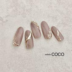 COCOのネイルデザイン[No.5681569]|ネイルブック Pretty Gel Nails, Summer Gel Nails, Bridal Nail Art, Nail Art Techniques, Chic Nails, Neutral Nails, Manicure E Pedicure, Press On Nails, Nail Arts