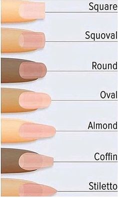 Hottest Trends for Acrylic Nail Shapes Acrylic Nail Shapes, Acrylic Nails, Cute Nails, Pretty Nails, Pointed Nails, Nail Sizes, Nails 2018, Clean Nails, Nail Ideas
