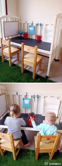 Thought Rikke might like this idea for her daycare room