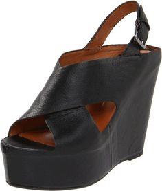 $178.95-$179.00 Dolce Vita Women's Julie Wedge Sandal,Black Leather,7.5 M US -  http://www.amazon.com/dp/B005UUOLUA/?tag=icypnt-20
