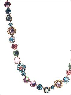 Classic Crystal Floral Necklace in Happy Birthday by Sorrelli - $167.50 (http://www.sorrelli.com/products/NBE2AGHB)