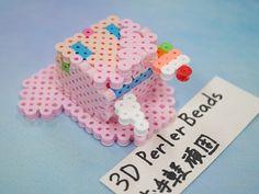2017_1103_150720p1170716 3d Perler Bead, Perler Beads, Sylvanian Families, Paper, Desserts, Projects, Tailgate Desserts, Postres, Deserts