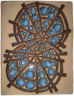 Abstract plaque  hoskamma.dk  Marianne Starck