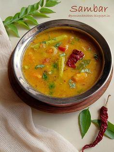 Sambhar Recipe, New Recipes, Vegetarian Recipes, Pigeon Peas, Vegetable Stew, Mixed Vegetables, Tamarind, Base Foods, Eat Right