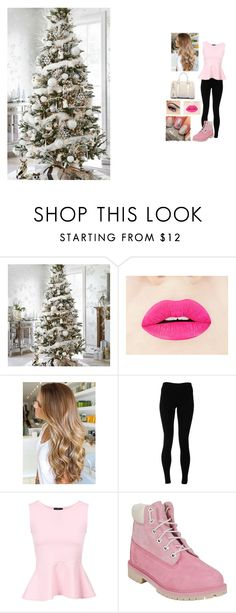 """""""4 days until Christmas"""" by danakadri43 on Polyvore featuring Solow and Timberland"""
