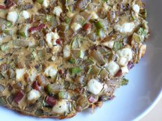 Chayote Frittata from An Italian Cooking in the Midwest blog