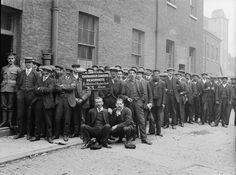 OUTBREAK FIRST WORLD WAR BRITAIN AUGUST 1914 (Q 67397)