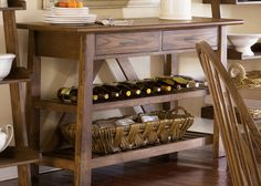 Farmhouse Server by Liberty - Home Gallery Stores
