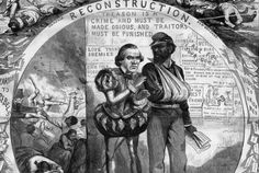 A good read. The Political Cartoon That Explains the Battle Over Reconstruction Political Equality, Political Satire, Political Cartoons, Politics, English Writers, Commonplace Book, Working People, History Facts, American History