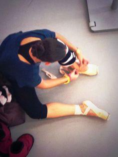 En la sala de ensayo con el Ballet Nacional de Cuba