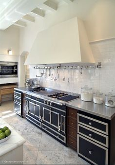 the length of the stove space is what I like.  counter space flanking stove.  put inset shelves above counter spaces.