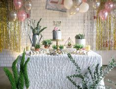 Ms.laine Events's Birthday / Marble Theme - Marble Theme 21st birthday party at Catch My Party