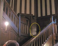 Hatley Castle on Vancouver Island recently had a photograph snapped within it that has raised some eyebrows. Is this the ghost of a girl on the stairs?