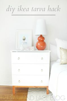 A few weeks ago, I shared a pair of nightstands that I'm using for myOne Room Challenge. I purchased two IkeaTarva chestsshortly after we moved, but I've only just recently put the finishing touches on. It was such a simple DIY that I wanted to share the details with you today! The room looks quite...Continue Reading