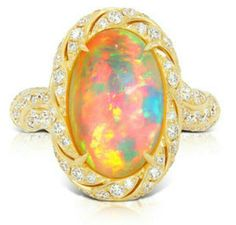 Opal Ring by Kat Florence