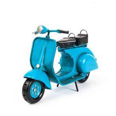 Miniatura Lambreta Antiga Azul - Machine Cult - Kustom Shop | A loja das camisetas de carro e moto