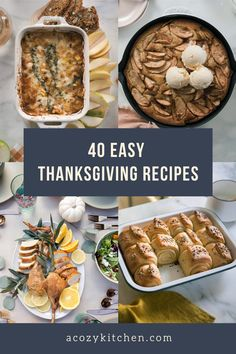 This collection of easy Thanksgiving and holiday recipes showcases my all-time favorite holiday menu recipes. From cozy apple pie to easy side dish recipes to inspiring main course dishes to holiday cocktails, this list provides you with the best holiday recipes from my kitchen to yours. Happy holidays!